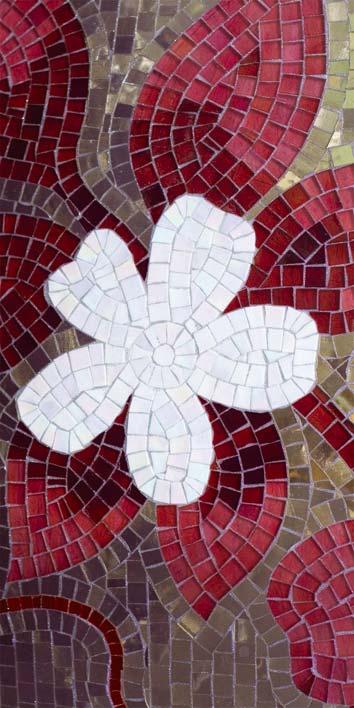 Samolepicí fototapeta Mozaika D009 (Fototapeta na dveře 95 x 210 cm)