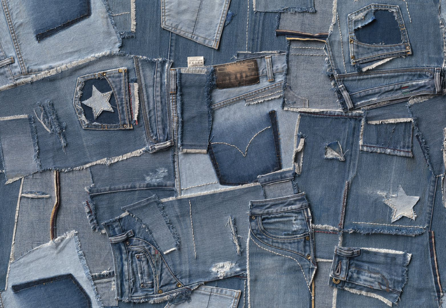 Fototapeta na zeď Jeans 8-909 (8-dílná fototapeta)