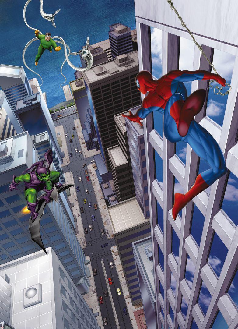 Fototapeta Komar Spiderman Villains 4-433 184 x 254 cm