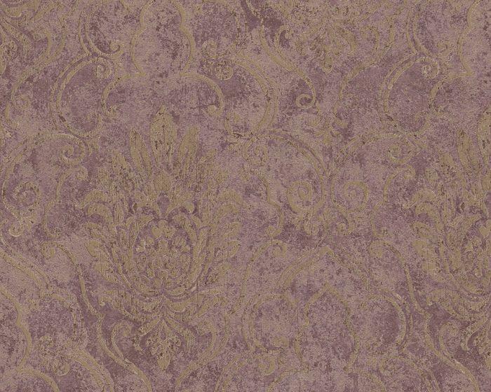 Vliesové tapety Bohemian 9453-41 (Hnědá, metalická)