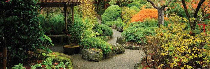 Vliesová fototapeta Japonská zahrada M-119 (2-dílná vliesová fototapeta 330x110cm)