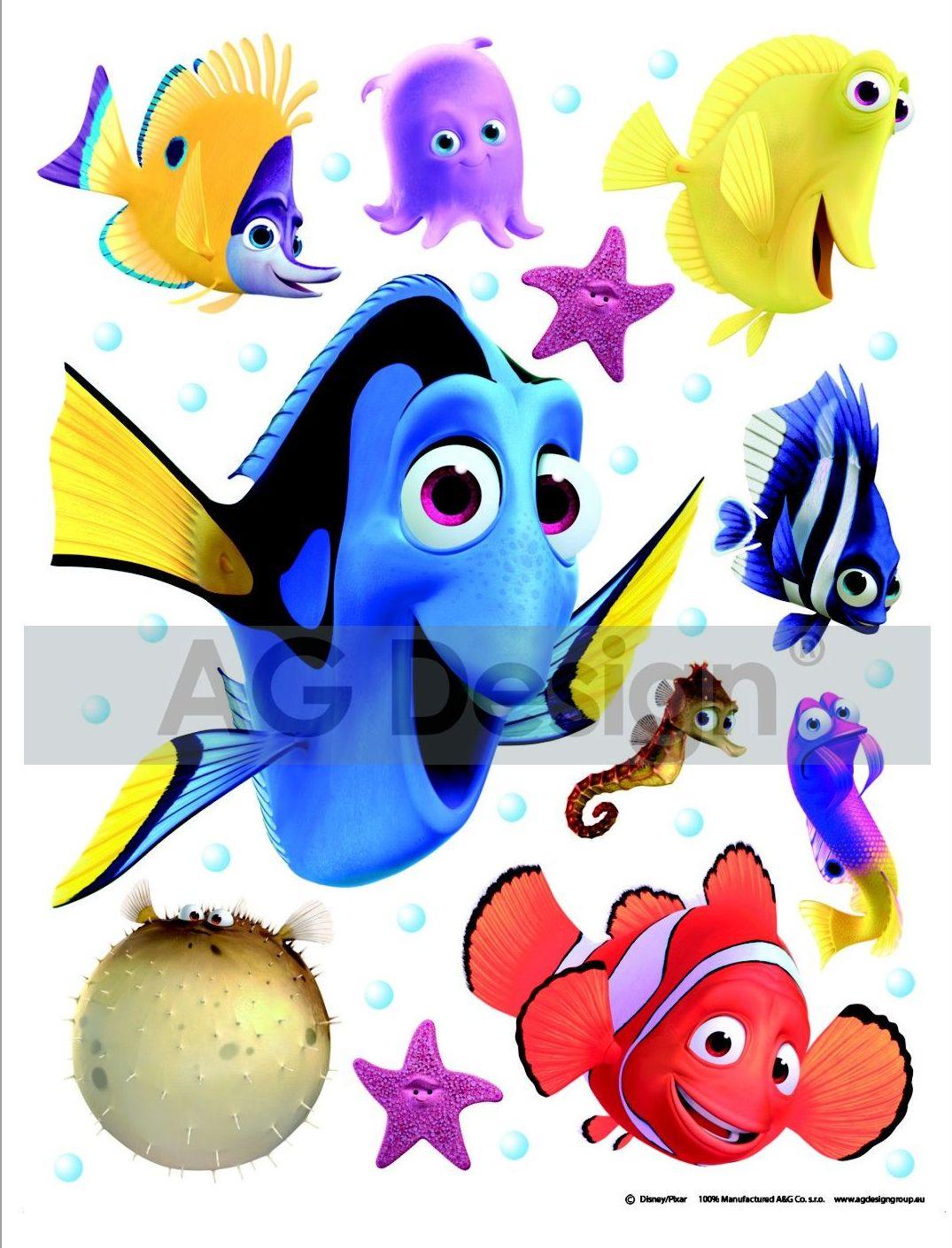 Maxi nálepka Hledá se Nemo DK1705