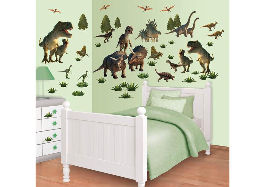 Samolepicí dekorace Walltastic Dinousaři 34 x 46 cm 41103 (Dětské samolepicí dekorace)