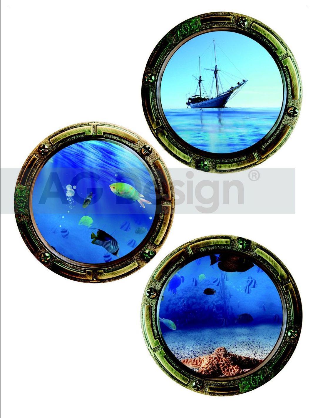 Samolepicí dekorace Moře (Dekorativní nálepka 65 x 85 cm)