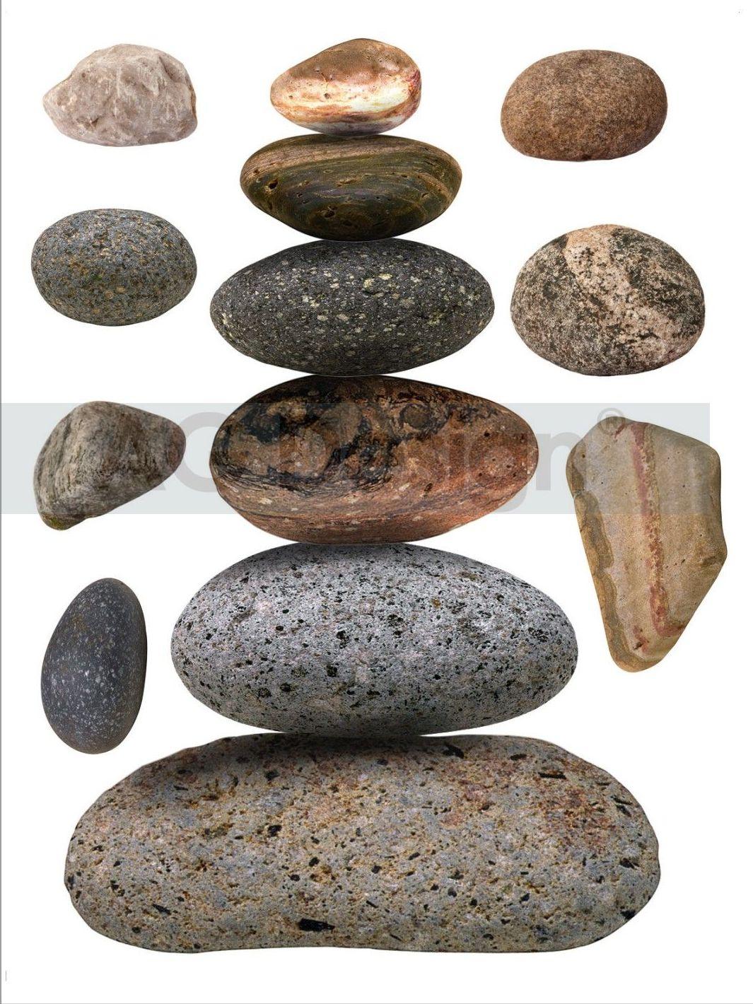 Samolepicí dekorace Kameny F1036 (Dekorativní nálepka 65 x 85 cm)