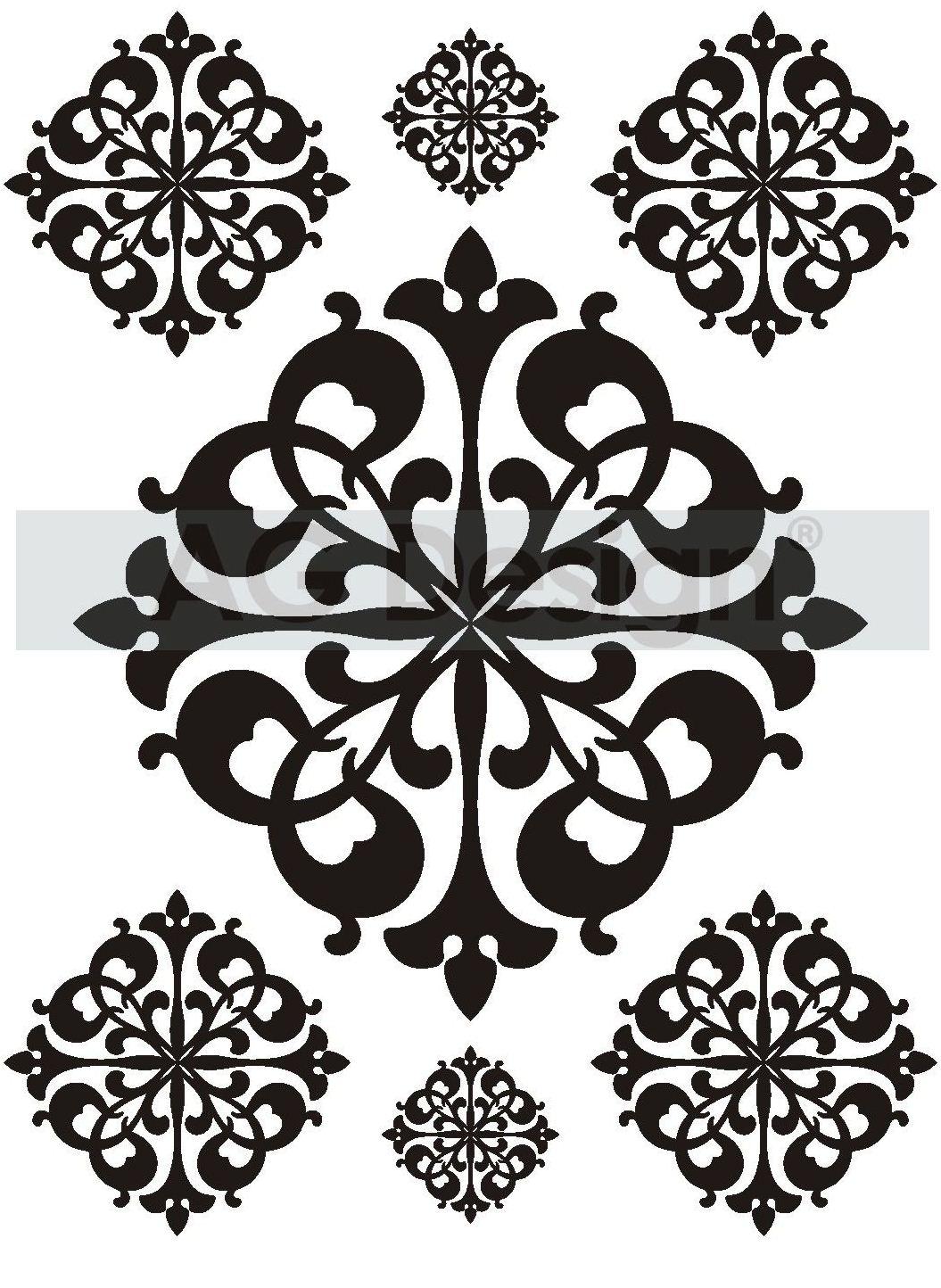 Samolepicí dekorace Orbi semiš (Dekorativní nálepka 65 x 85 cm)