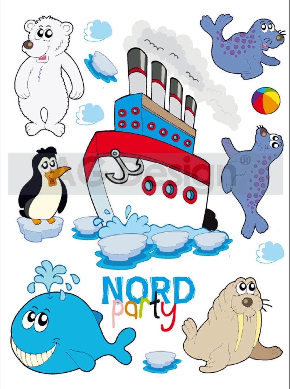 Samolepicí dekorace Nord Mini (Dekorativní nálepka 42 x 65 cm)