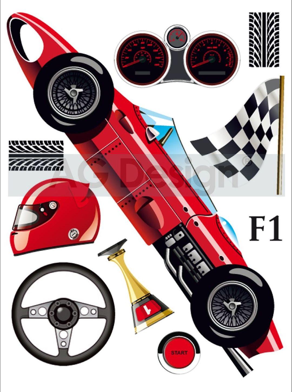 Samolepicí dekorace Formule Mini (Dekorativní nálepka 42 x 65 cm)