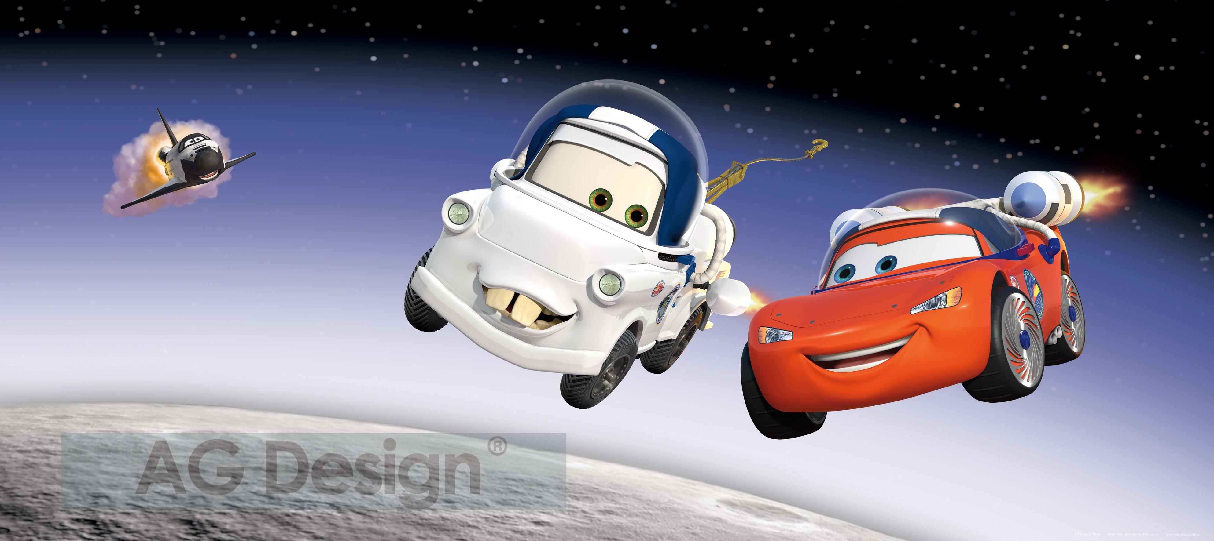 Dětská fototapeta Cars Flying FTDH0604 (1-dílná papírová tapeta)