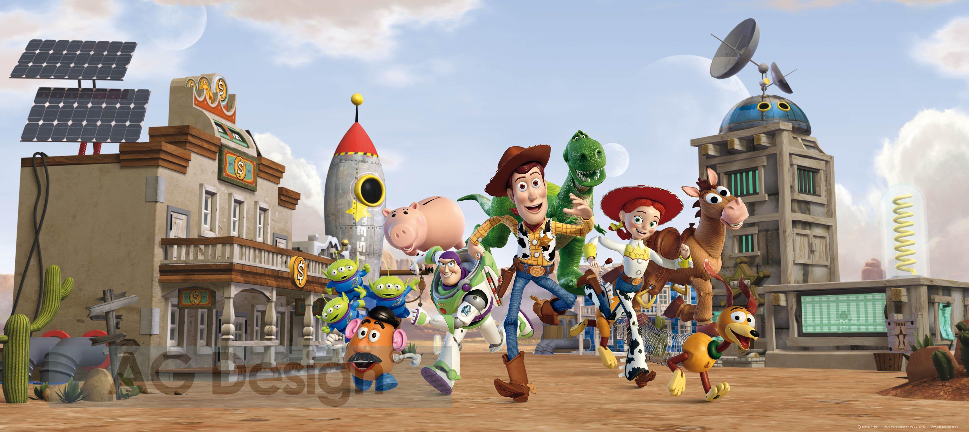Dětská fototapeta Toy Story FTDH0626 (1-dílná papírová tapeta)