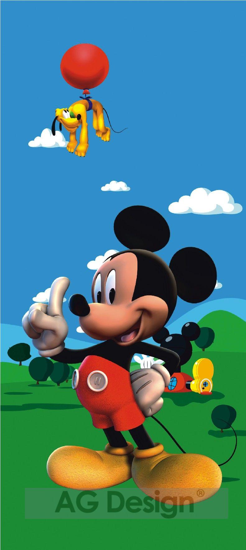 Fototapeta Mickey Mouse 0237 (1-dílná papírová tapeta)