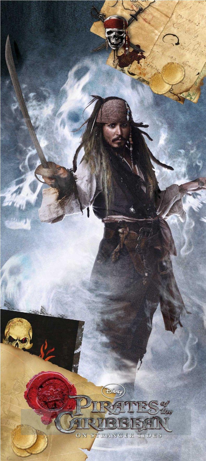 Fototapeta Piráti z Karibiku 3 0270 (1-dílná papírová tapeta)