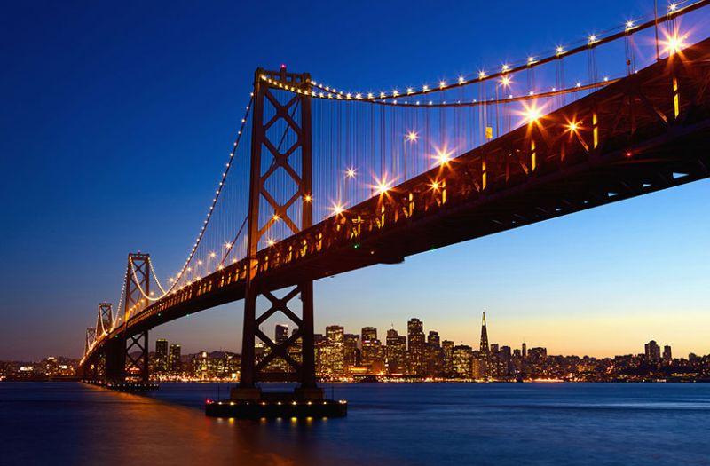 Plakát W+G San Francisco Skyline 115 x 175 cm 628 (Papírový plakát Gian Art)