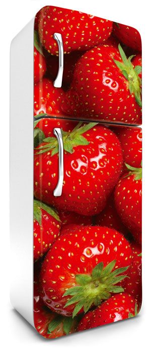 Fototapeta na lednici Strawberry 65 x 180 cm FR180-022