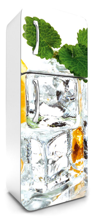 Fototapeta na lednici Ice Cubes 65 x 180 cm FR180-023