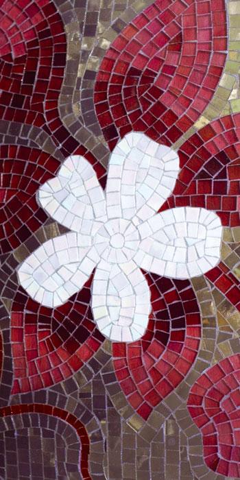 Fototapety na podlahu Dimex Mozaic FL85-014 85x170 cm (1-dílná laminovaná fototapeta)