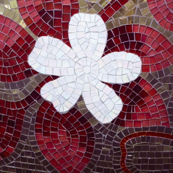 Fototapety na podlahu Dimex Mosaic FL170-023 170x170 cm (2-dílná laminovaná fototapeta)