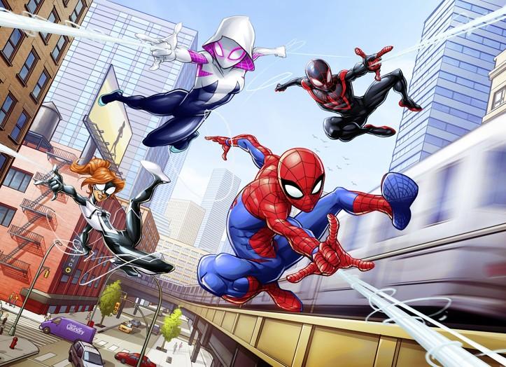 KOMAR fototapeta Spiderman Neighbours 4-4027 | 254 x 184 cm
