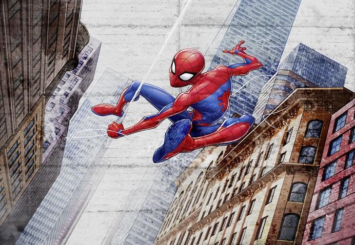 KOMAR fototapeta Spiderman New Concrete 8-4029 | 368 x 254 cm