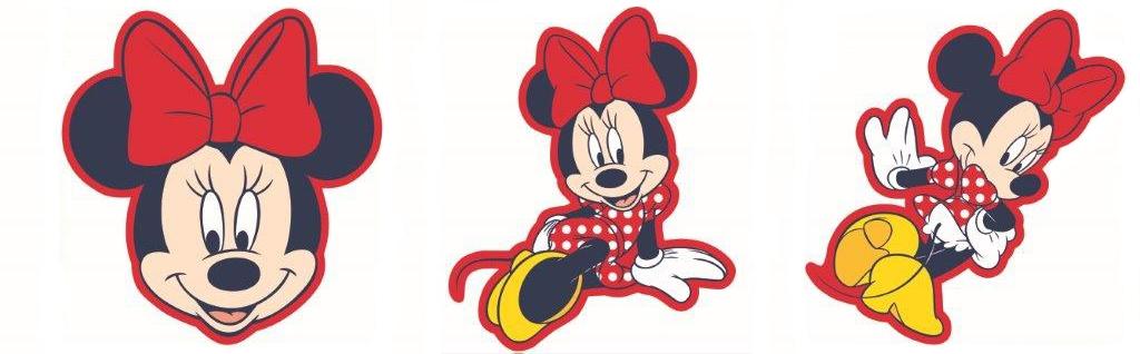 3 pěnové figurky Mickey Mouse D70030