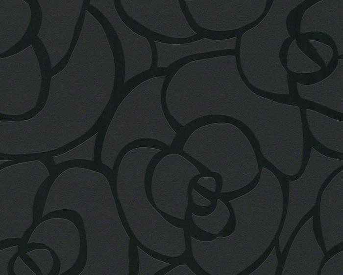 Tapeta na zeď Raffi 94027-6 (Černá tapeta)