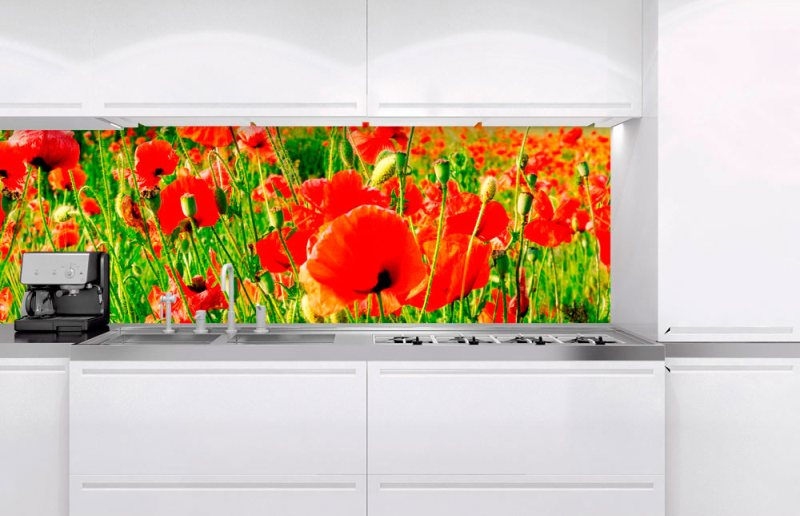 Fototapeta na linku Red Poppies 180 x 60 cm KI180-028