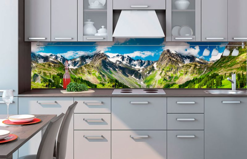 Fototapeta na linku Mountains 260 x 60 cm KI260-033