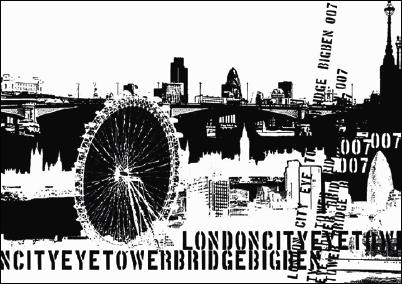 Fototapeta London - 0320-0L (Vliesová fototapeta)