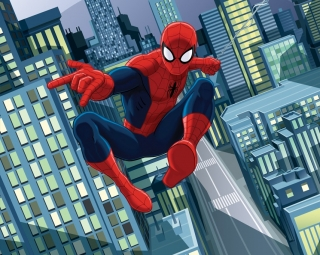 Fototapeta Walltastic Spiderman 304,8 x 243,8 cm