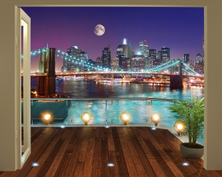Fototapeta Walltastic Brooklyn 304,8 x 243,8 cm