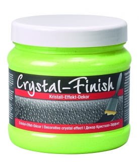 Pufas Crystal Finish Neon Yellow 750g