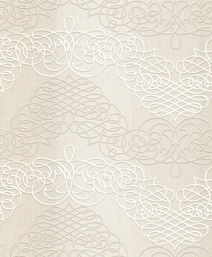 Tapeta na zeď New Wave 453607 (Vliesová tapeta - béžová, bílá)