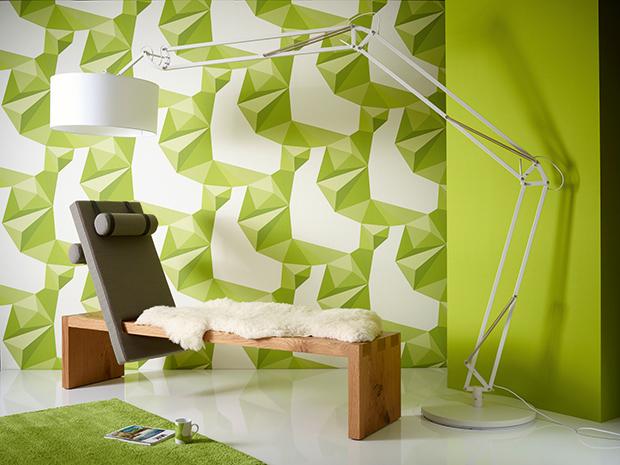 Zelené moderní tapety